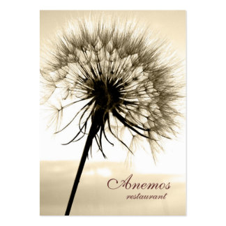dandelion large business cards (Pack of 100)