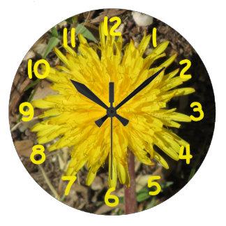 Dandelion Large Clock
