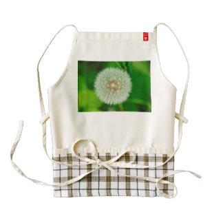 Dandelion macro zazzle HEART apron