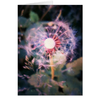Dandelion Magic Stationery Note Card