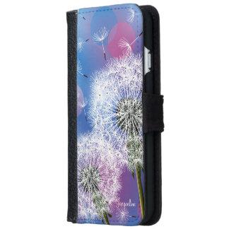 Dandelion Make A Wish iPhone 6 Wallet Case