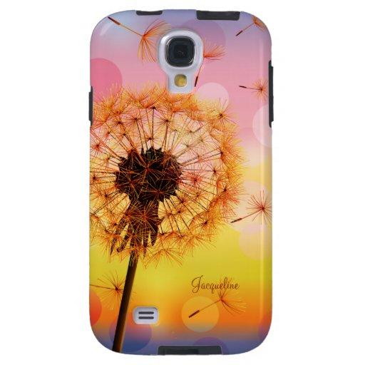 Dandelion Make A Wish Samsung Galaxy S4 Case