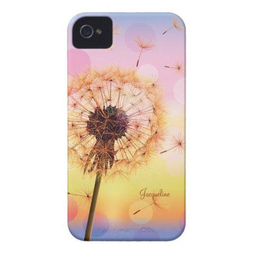 Dandelion Make A Wish Spring iPhone 4 Case