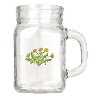 Dandelion Mason Jar