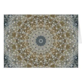Dandelion Mosaic Nov 2012 Card