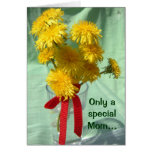 Dandelion Mother's Day Card