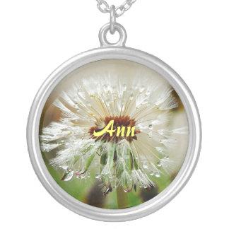 Dandelion Name Pendant