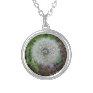 dandelion neckless round pendant necklace