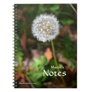 Dandelion Notebook
