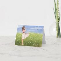 Dandelion notecard-KNOWLEDGE IS POWER Card