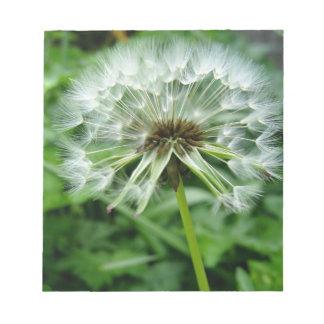 Dandelion Notepad