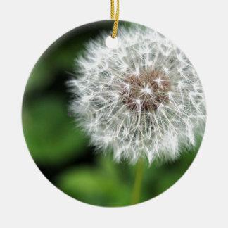 Dandelion Christmas Ornaments