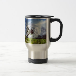 Dandelion (Photography) Travel Mug