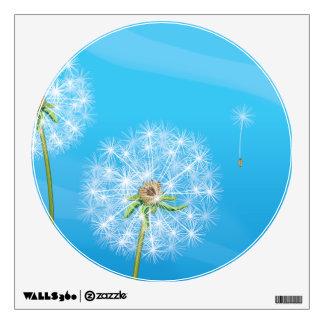 Dandelion Plant Wall Decal