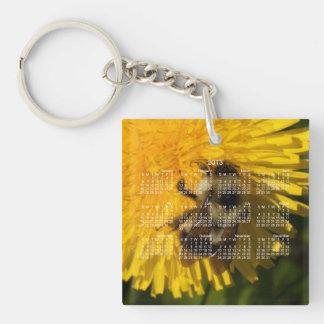 Dandelion Pollenator; 2013 Calendar Keychain