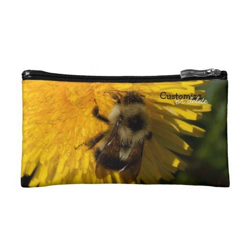 Dandelion Pollenator; Customizable Cosmetics Bags
