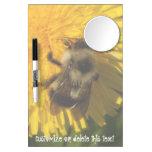 Dandelion Pollenator; Customizable Dry-Erase Whiteboard