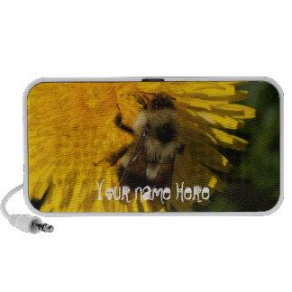 Dandelion Pollenator; Customizable Notebook Speaker