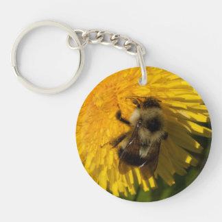 Dandelion Pollenator Keychain