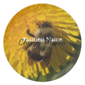Dandelion Pollenator; Promotional Plate
