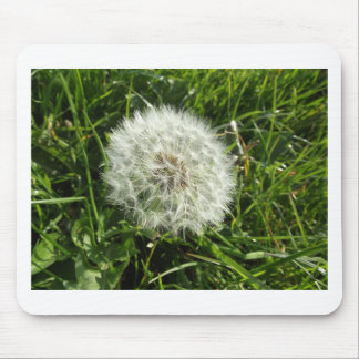 Dandelion Seed Design Mouse Pad