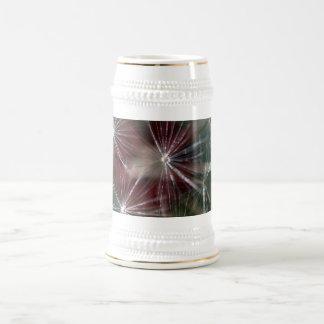 Dandelion Seed Head 18 Oz Beer Stein
