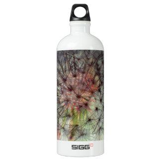 Dandelion Seed Head Aluminum Water Bottle