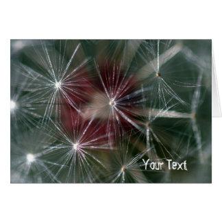 Dandelion Seed Head Card