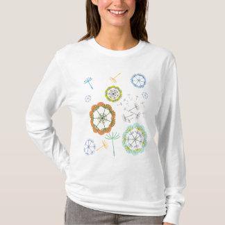 Dandelion Seed Pattern T-Shirt
