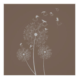 Dandelion Seed Thieves Print