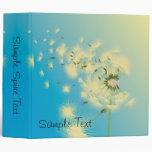 Dandelion Seeds Blowing In The Wind, Sample Spi... Vinyl Binders