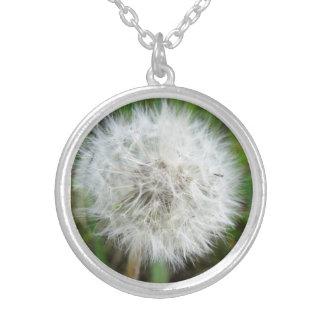 Dandelion Seeds Necklace