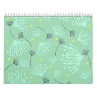 Dandelion Silhouette Calendar