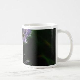 Dandelion taraxacum officinale design coffee mug