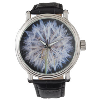 Dandelion (Taraxacum Officinale) Seed Head Wrist Watch