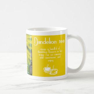 Dandelion Tea Recipe Mug