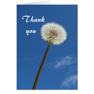 Dandelion - Thank you Card
