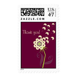 Dandelion Thank You Postage