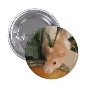 Dandelion the rat badge 1 inch round button