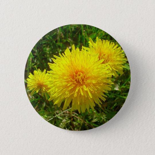 Dandelion Trio Button