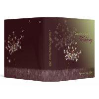 Dandelion Wedding Planner Organiser Binders (1.5