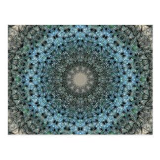 Dandelion Wheel of Negative puffs Nov 2012 Postcard