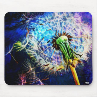 Dandelion Wish by Missi Lynn Boness Mouse Pad