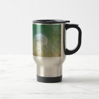Dandelion Wish Dreamy Design Travel Mug