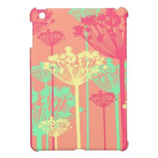 Dandelion wish flowers girly floral pattern case for the iPad mini