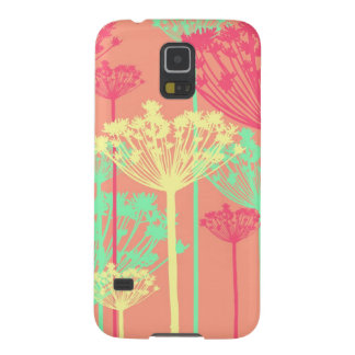 Dandelion wish flowers girly floral pattern cases for galaxy s5