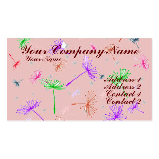 Dandelion Wishes 2 Business Card Template