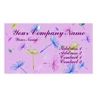 Dandelion Wishes 3 Business Card Templates