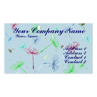 Dandelion Wishes 4 Business Card Templates