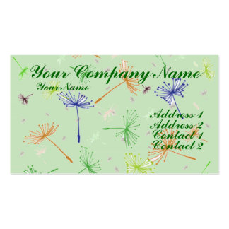 Dandelion Wishes 5 Business Card Template